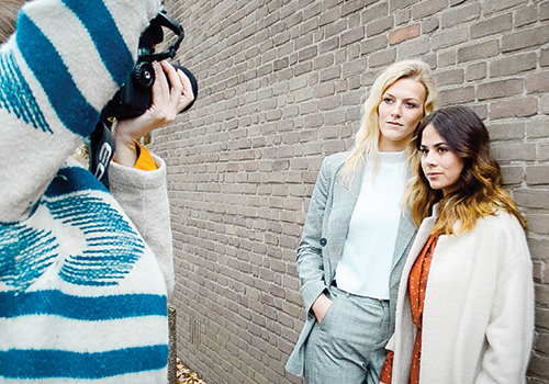 Photoshoot with Photographer Danu Caris for MILK Copenhagen Breda (VLOG)
