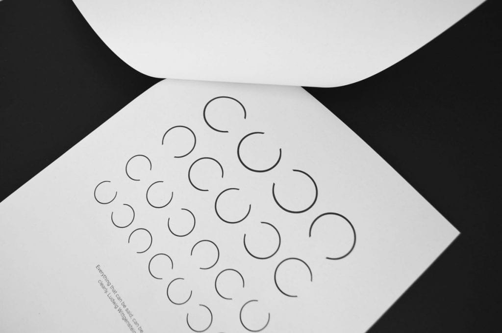 Typography project: What is Typo in Black and White