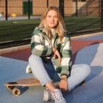 portret en lifestyle fotoshoot met instagrammer Pien van der Sommen