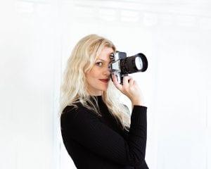 Portret fotografie Vera IJzelenberg