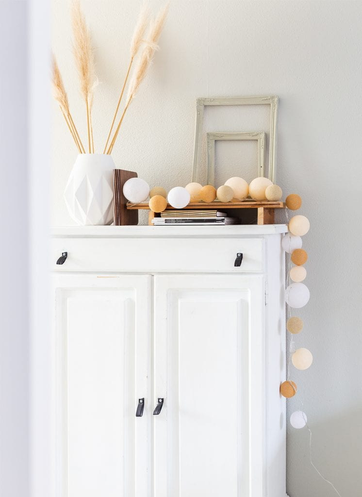 product fotografie cotton ball lights