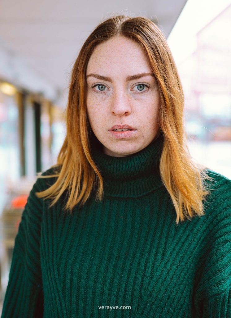 Portretshoot met Ilja