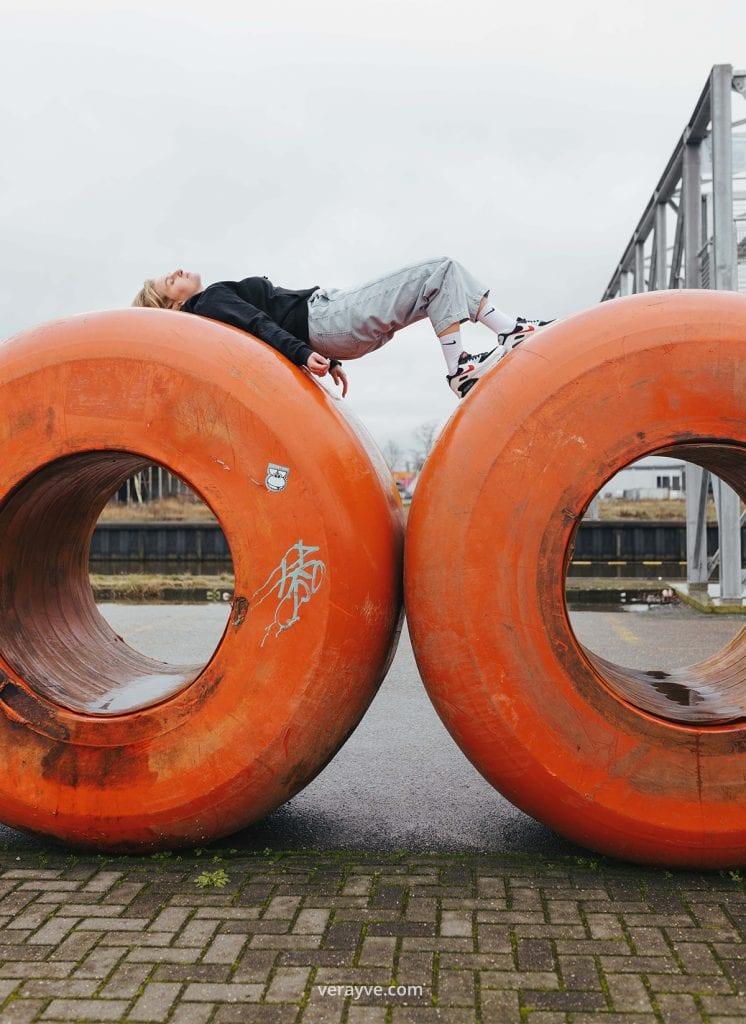 Urban Fotoshoot met Sanne de Laat in Breda