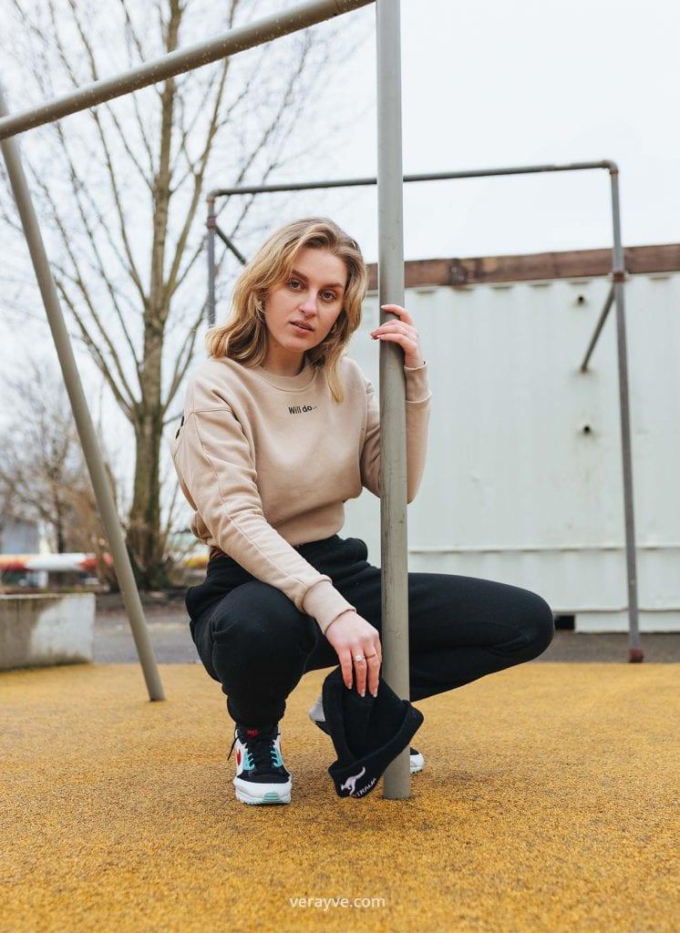 Urban shoot in Breda met Sanne de Laat
