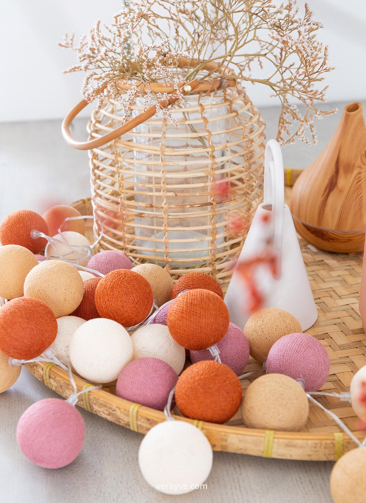 Product Fotoshoot Voorjaars Collectie Cotton Ball Ligths