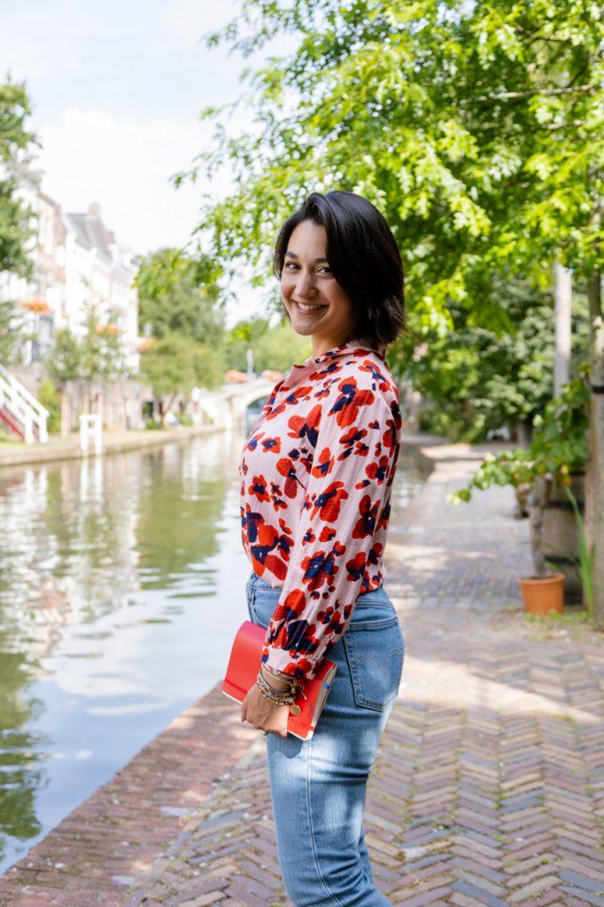 Personal branding shoot met Coach Yldou Girl on the Go in Utrecht